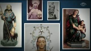 Câmeras de segurança e até alarmes viraram equipamentos obrigatórios em boa parte das igrejas no país. O mercado ilegal e lucrativo de peças de arte sacra fez crescer os ataques de quadrilhas especializadas.
