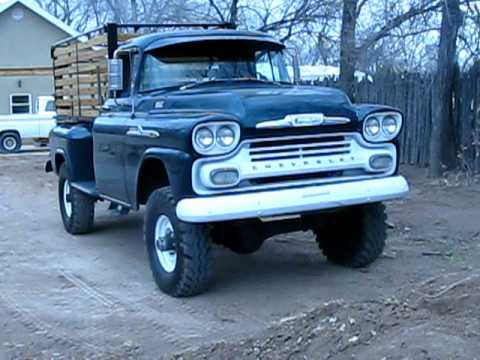 1958 Chevrolet NAPCO Cummins Idle crawl