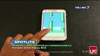 Video Penemu yang Menyesali Penemuannya | SPOTLITE Trans 7 MP3, 3GP, MP4, WEBM, AVI, FLV September 2018