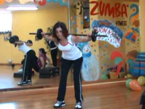 Circuit training a stazioni ( sala fitness musicale )