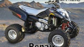 5. Clymer Manuals Polaris Predator 500 ATV Repair Service Shop Quad Four Wheeler Manual Video