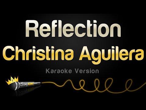 Christina Aguilera - Reflection (Karaoke Version)