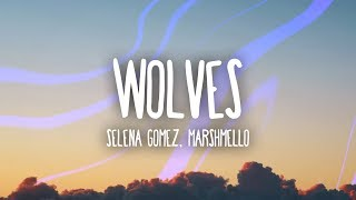 Video Selena Gomez, Marshmello - Wolves (Lyrics) MP3, 3GP, MP4, WEBM, AVI, FLV Mei 2018