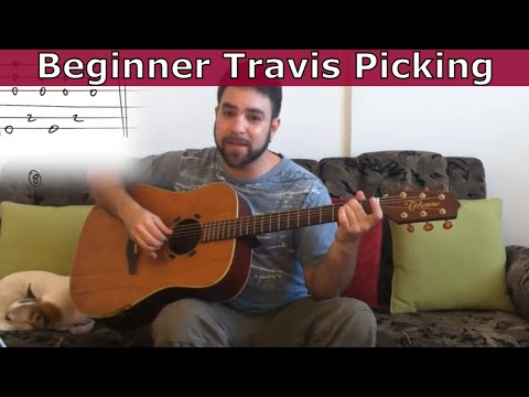 20 Beginner Travis Picking Exercises & Patterns – Ultimate Guitar Tutorial w/ TAB