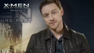 X-Men: Days of Future Past | X-Men X-Perience: James McAvoy