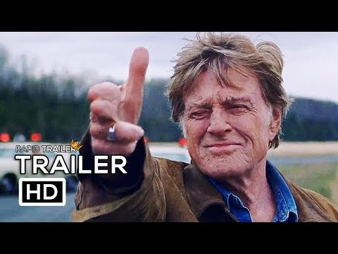 THE OLD MAN AND THE GUN Official Trailer (2018) Robert Redford, Elisabeth Moss Movie HD