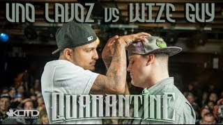 King of the Dot | Uno Lavoz vs. Wize Guy