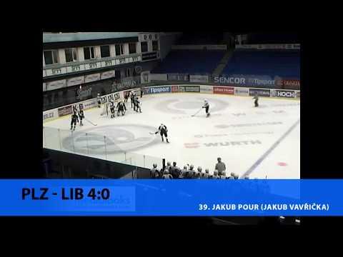 DHL 2017/2018 (27. kolo): HC Plzeň 1929 - Bílí Tygři Liberec 4:3