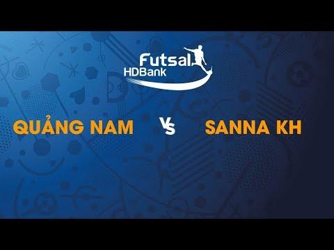 TRỰC TIẾP | QUẢNG NAM - SANNA KHÁNH HÒA  | Vòng loại giải futsal HDBank VĐQG 2019 | BLV Quang Huy - Thời lượng: 1 giờ và 34 phút.