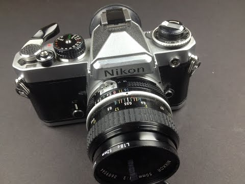 Kenneth Wajda Buying a Film SLR: NIKON FE Camera