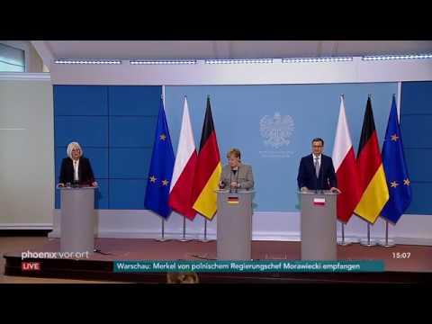 Regierungskonsultationen: Angela Merkel und Mateusz M ...