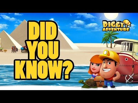DIGGY'S ADVENTURE - DID YOU KNOW?
