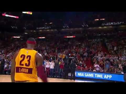 Video: Fans in Miami Give LeBron James a Standing Ovation