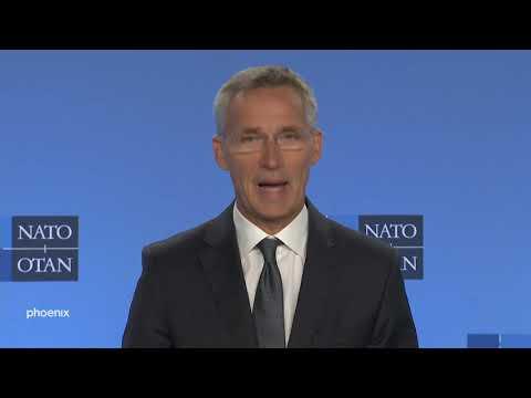 NATO-Generalsekretär Stoltenberg zum Ende des  ...