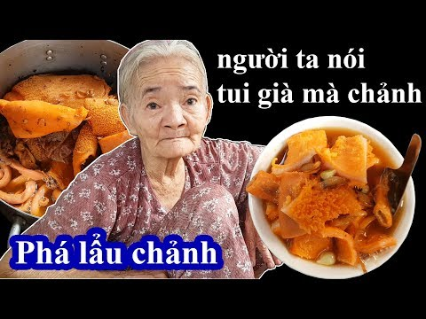 Đằng sau tên gọi Phá Lấu Chảnh vỉa hè của cụ bà 82 tuổi ở Sài gòn