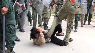 Khmer Documentary - Poor Khmer Farmer Had Enough & Turn against the Police!