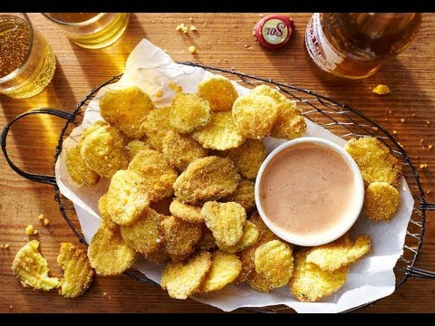 Fried Pickles & Roundhouse-Kick Sauce   Southern Living