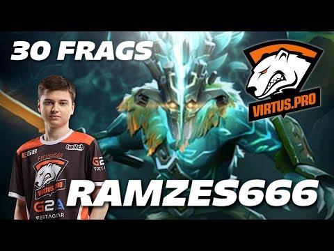 RAMZES666 Juggernaut 30 Frags [Virtus.pro] Dota 2