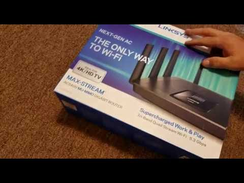 Linksys Max-Stream MU-MIMO Tri-Band AC5400 Wi-Fi Router (EA9500)