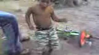 ~Nino Bailando En La Guacamaya El Progreso, Yoro Honduras