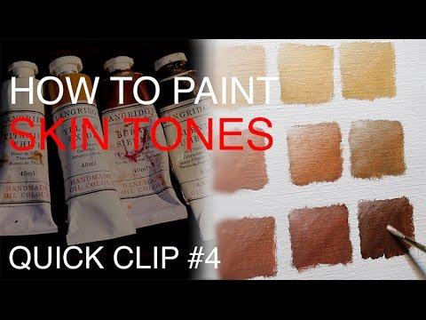 How To Mix Skin Tones: QUICK CLIP #4
