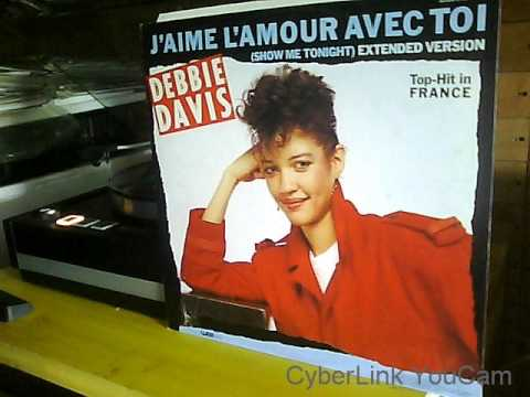 DEBBIE DAVIS  j' aime l' amour avec toi  1984