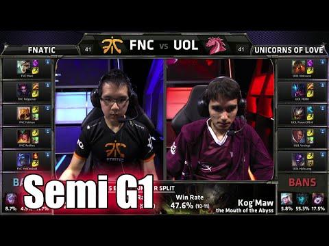 FNATIC vs UOL - Ngày 17/8 - EU LCS Mùa Hè 2015 - BLV G-Gấu