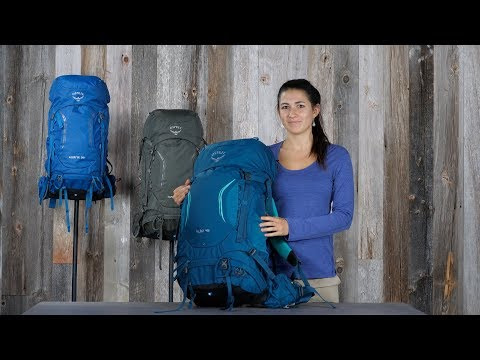 Osprey Packs | Kestrel/Kyte Series | Product Tour