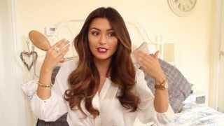 Kim Kardashian Hair Style Tutorial - YouTube