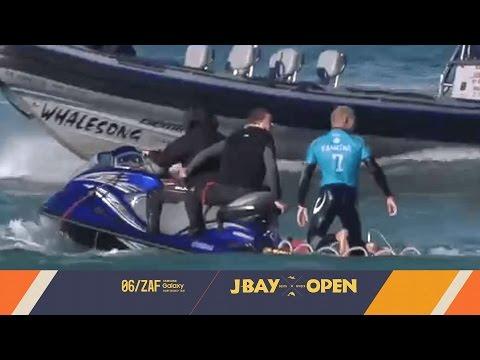 Shark Attacks Mick Fanning at J-Bay Open