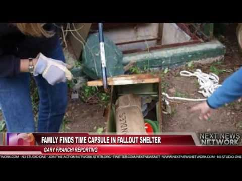 Family Finds Fully-Stocked Fallout Shelter In Their Backyard