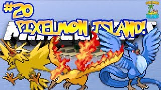 """NEED LEGENDARIES!"" - PIXELMON ISLAND ADVENTURE! (Minecraft Pokemon Mod) - #20"
