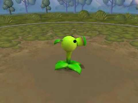 SPORE: Peashooter from Plants vs. zombies !