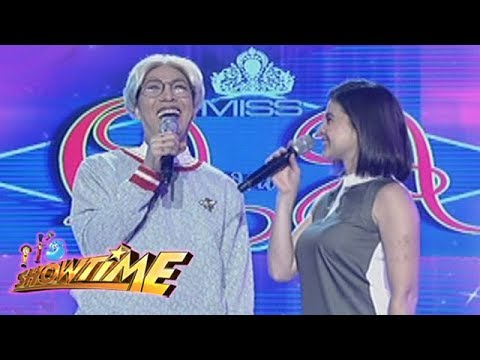 It's Showtime Miss Q & A: Anne asks Vice Ganda an intriguing question