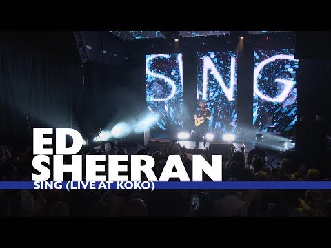 Ed Sheeran - 'Sing' (Live At Capital Up Close)