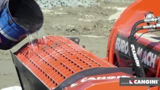 Caçamba misturadora betoneira
