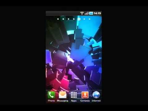 Video of Live Wallpaper: ICS Boot
