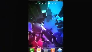 Live Wallpaper: ICS Boot YouTube video
