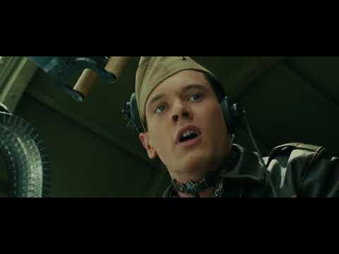 Unbroken (2014) First Bomb Drop Scene