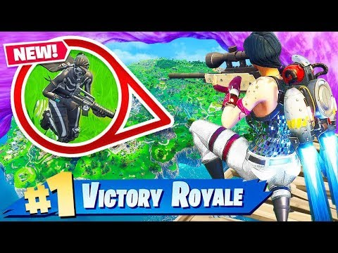 JETPACK + SKYBASE = WIN!! Fortnite: Battle Royale (видео)