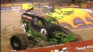 2011 Monster Jam World Finals 12 Las Vegas, NV - CBS Sports Recap Part 1