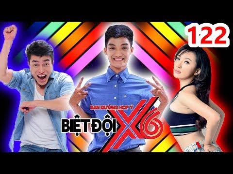 BIỆT ĐỘI X6 | BDX6 #122 | Dương Lâm - Mạc Văn Khoa đối đầu Miko Lan Trinh nếm thức uống ĐỘC LẠ