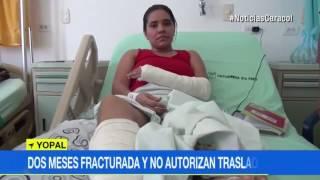 DOS MESES FRACTURADA Y COOMEVA NO AUTORIZA SU TRASLADO