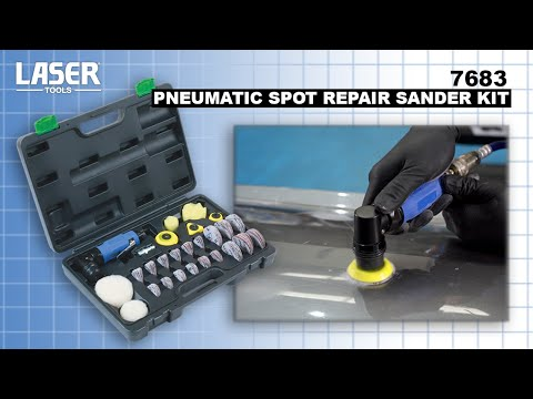 7683 | Pneumatic Spot Repair Sander Kit