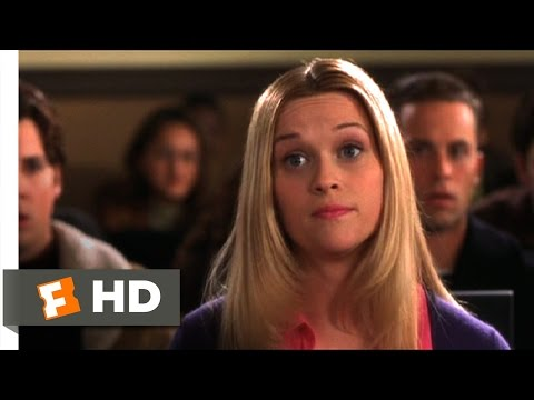 Legally Blonde (7/11) Movie CLIP - Impressing Professor Callahan (2001) HD