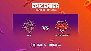 NiP vs Hellraisers - EPICENTER 2017 EU Quals - map1 - de_train [MintGod]