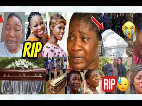Funeral Video of Nollywood Actress Ada Ameh Only Daughter As Celebrities Console Her