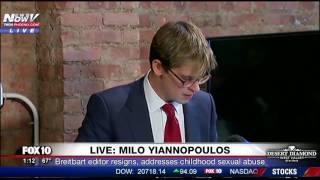 Video PRESS CONFERENCE: Milo Yiannopoulos Resigns from Breitbart, Tells Story of Past Sexual Abuse (FNN) MP3, 3GP, MP4, WEBM, AVI, FLV Februari 2017