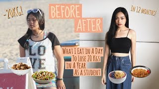 Video WHAT I EAT IN A DAY TO LOSE 20 KGS IN A YEAR AS A STUDENT | easy & delicious diet meals ideas! MP3, 3GP, MP4, WEBM, AVI, FLV Desember 2018