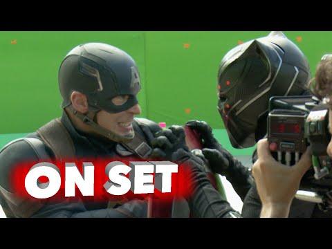 หนังใหม่ Captain America Civil War 4k Behind the Scenes Movie Broll Robert Downey Jr Chris Evans,xsBkGozRtDA,หนังใหม่,หนังเข้าโรง